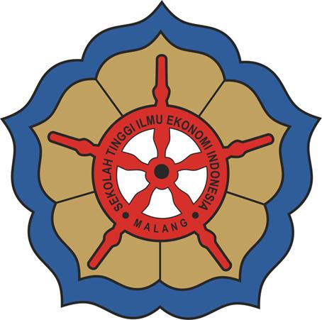 Logo Sekolah Tinggi Ilmu Ekonomi (STIE) Indonesia Malang melambangkan ...