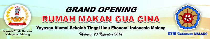 Banner Grand Opening 8 x 1,5 m cmyk