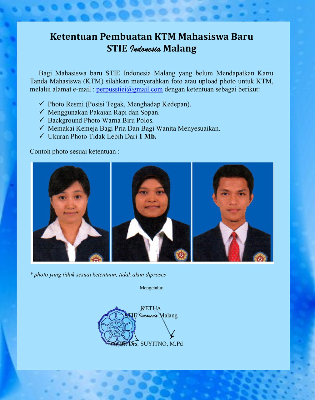 ktm-stie-indonesia-malang-2016